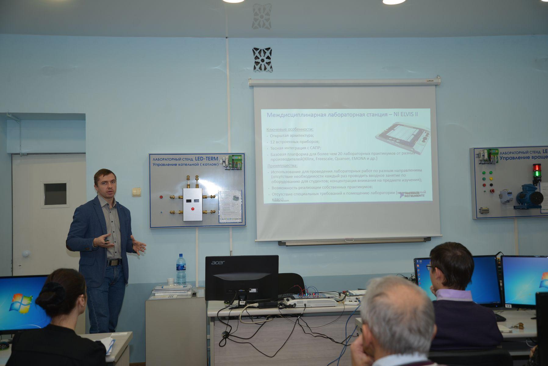 Во ВГУЭС прошла презентация современного технологического оборудования