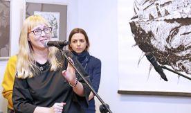 Линия — знак: в Музее ВГУЭС открылась выставка «Новая графика»