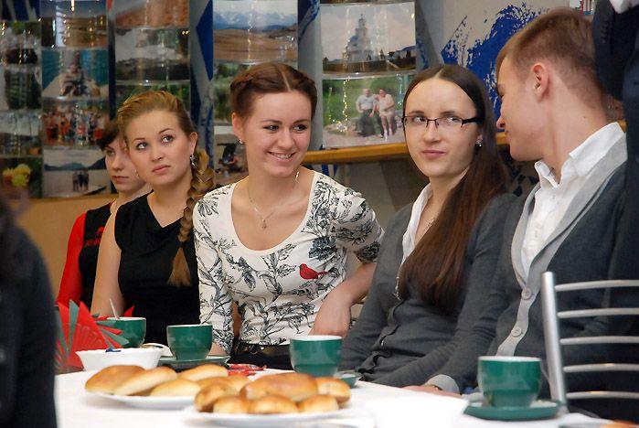 В День российского студенчества Геннадий Лазарев встретился с лучшими студентами ВГУЭС