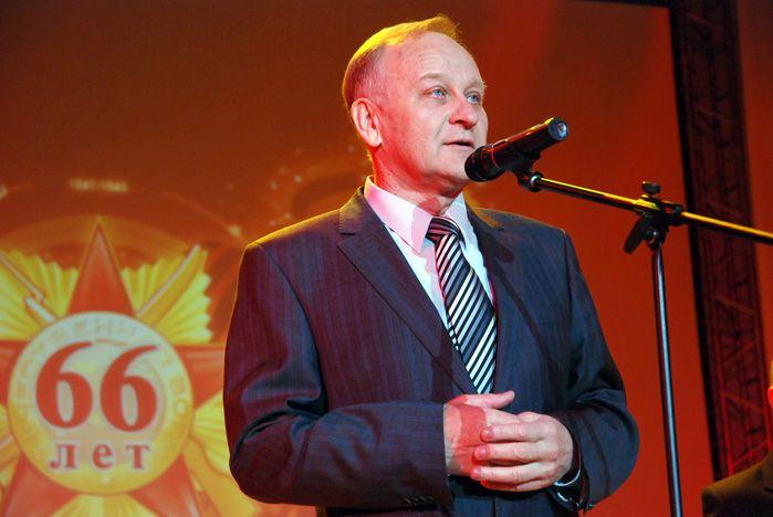 Поздравление ректора ВГУЭС Г.И. Лазарева с Днем Победы