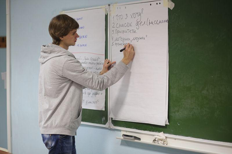«Азбука успеха» во ВГУЭС: прошел тренинг по тайм-менеджменту