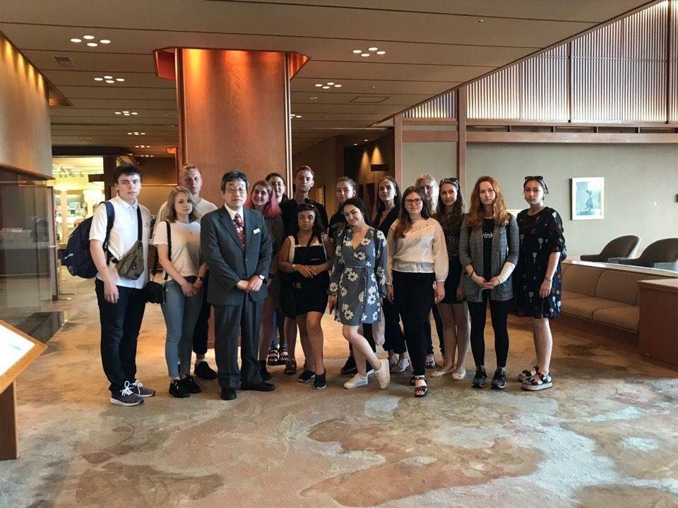 Международники в Японии: профессиональная стажировка в кампании «Frigatе Aero Tours»