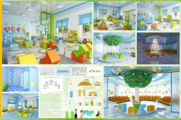 Дизайн интерьеров в исполнении студентов кафедры дизайна