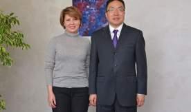 Ректор ВГУЭС Татьяна Терентьева встретилась с генеральным консулом КНР во Владивостоке