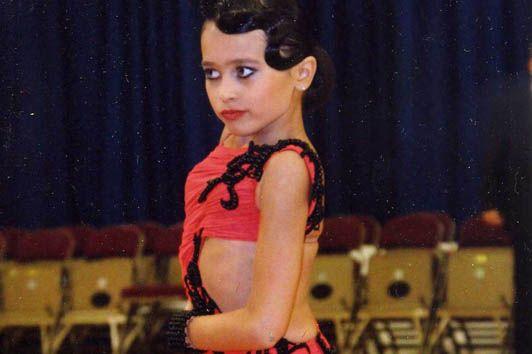 Пятиклассница ШИОД Варвара Курдакова заняла 2 место в Первенстве ДВФО по латиноамериканским танцам