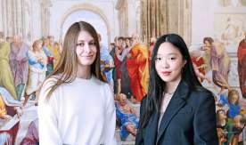 VSUES students Daria Akulenko and Anna Kogai are finalists of the IV International essay competition in English
