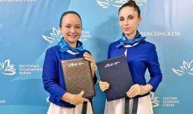 VSUES students – volunteers of the Eastern Economic Forum (EEF)