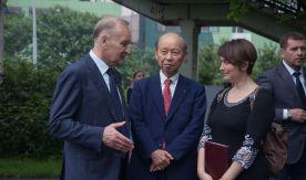Благодарность ВГУЭС от губернатора префектуры Тояма