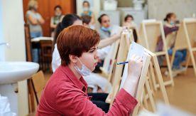 Абитуриенты ВГУЭС направления подготовки «Дизайн» продемонстрировали свои таланты на творческом испытании