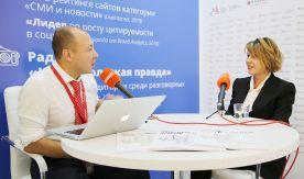 Ректор ВГУЭС Татьяна Терентьева в эфире «Открытой студии «Комсомольской правды»