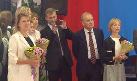 Николай Цискаридзе, ректор Академии Русского балета выразил благодарность ректору ВГУЭС Татьяне Терентьевой