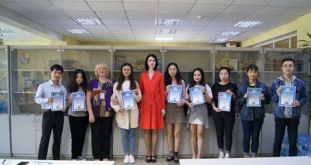 Олимпиада по русскому языку для иностранных студентов прошла во ВГУЭС