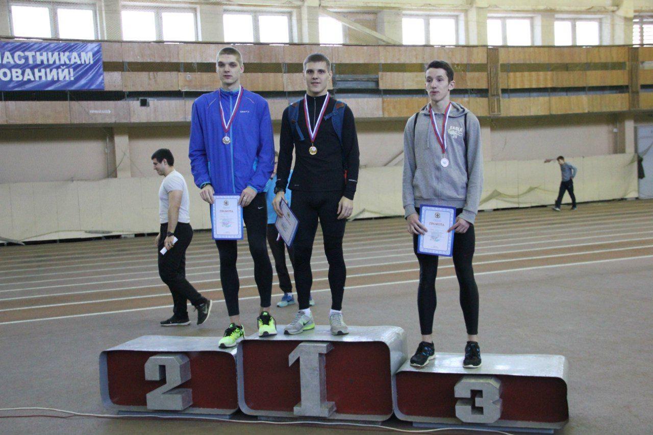 Легкоатлеты ВГУЭС вошли в пятерку сильнейших команд вузов России